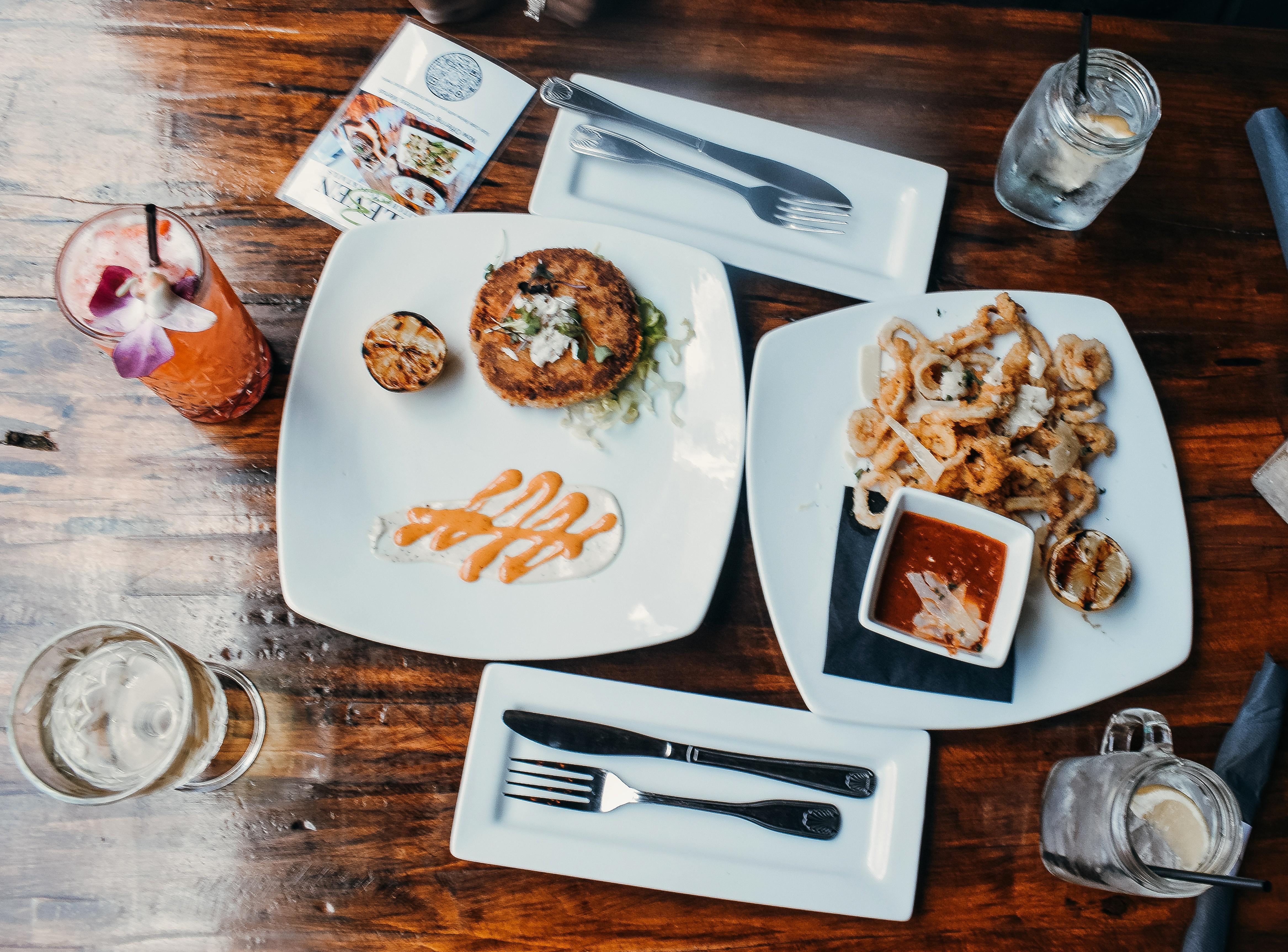 3 eleven restaurant menu appetizers