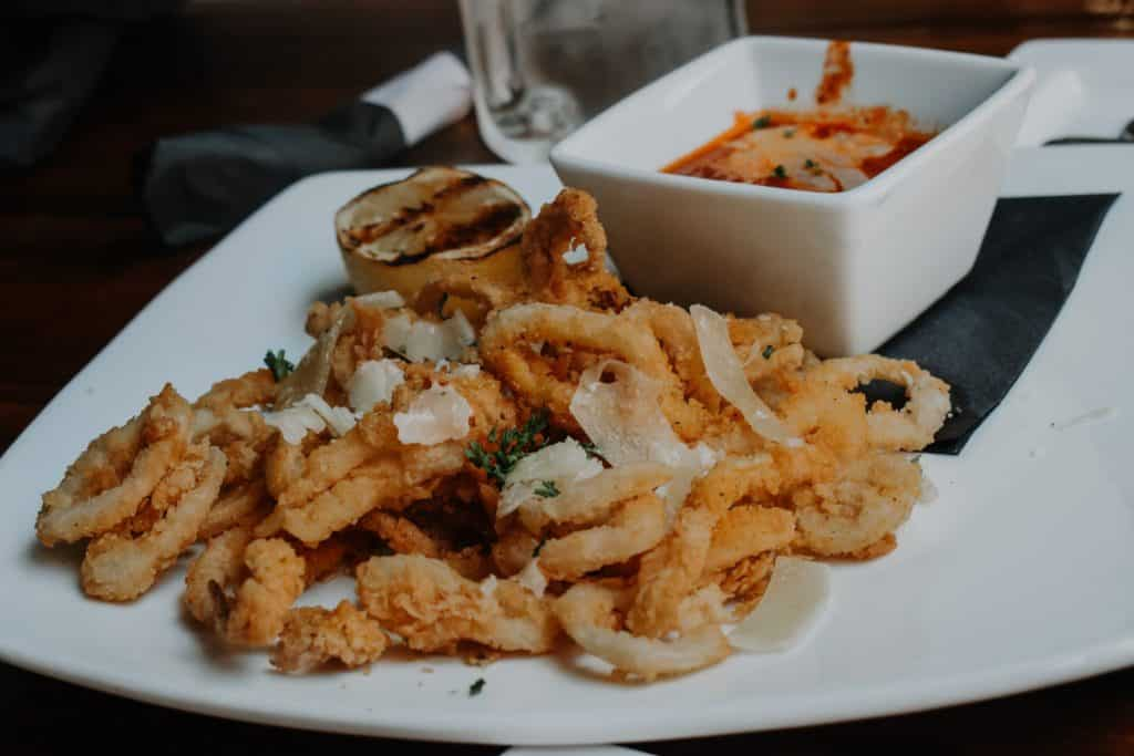 3 eleven restaurant dallas calamari