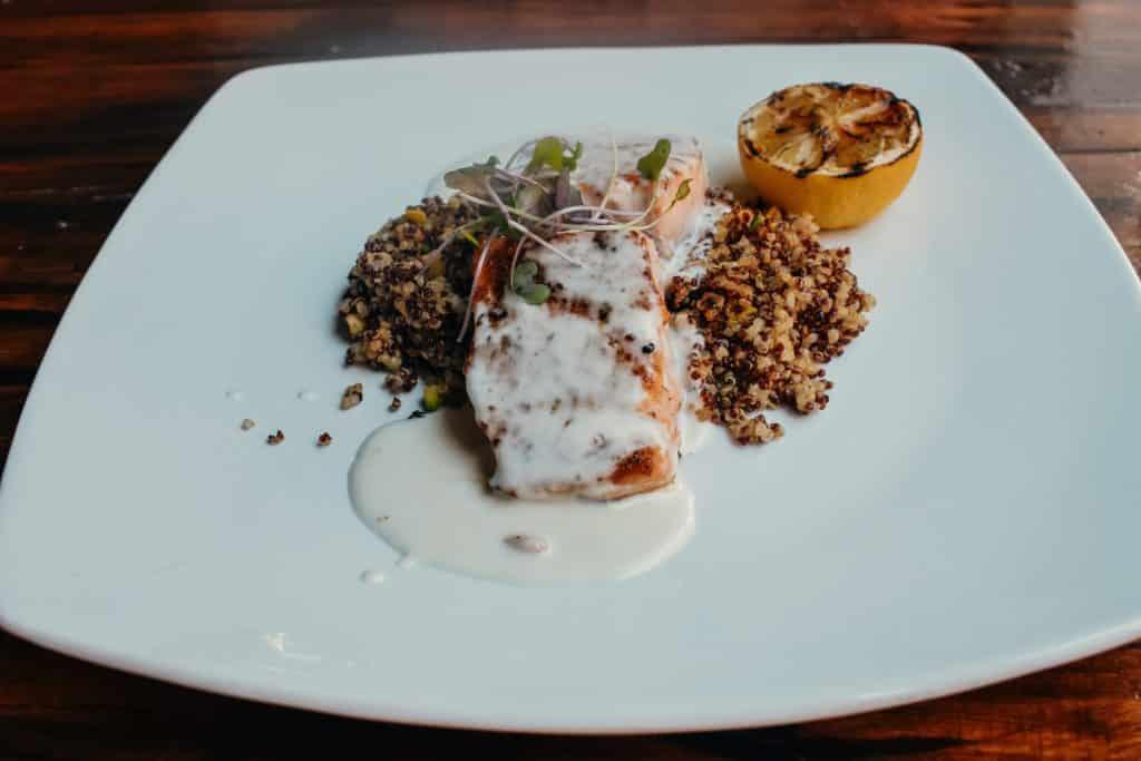 3 eleven restaurant salmon