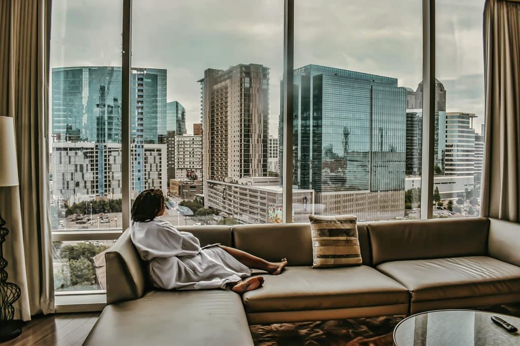 W Dallas Hotel Suite