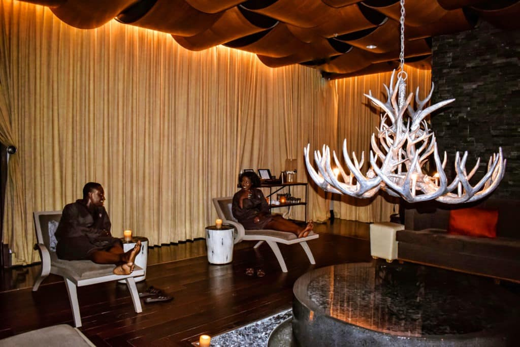 Luxury spa day at Viceroy hotel Snowmass Village