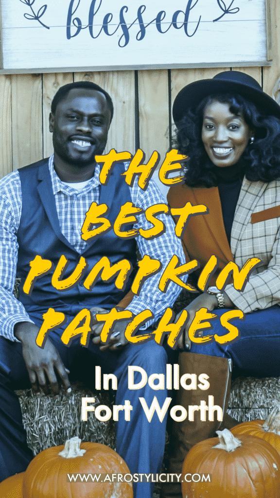 Pumpkin patch in Dallas Fort Worth. Fun fall activity.